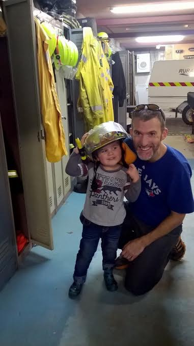 UHCC Rural Fire Station visit